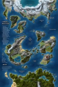 Map by Ben Wilson From Ben Wilson's Pintrest Page